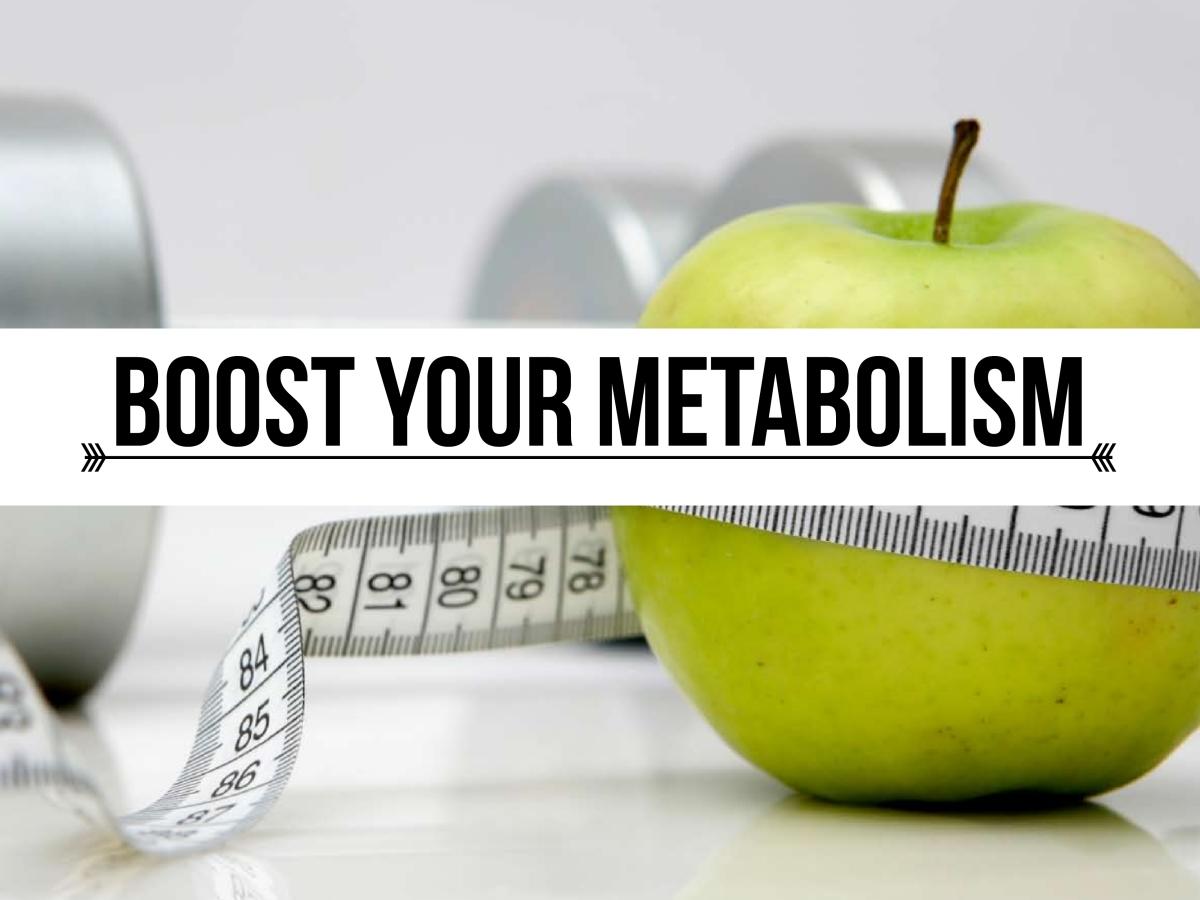 Boost metabolism rate zones
