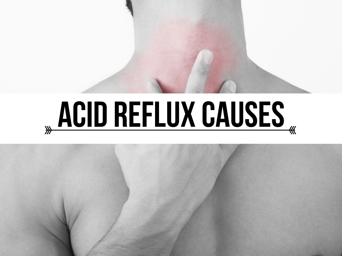 how to get rid of acid reflux pain in chest